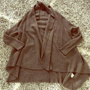Alice and Olivia Brown Cardigan
